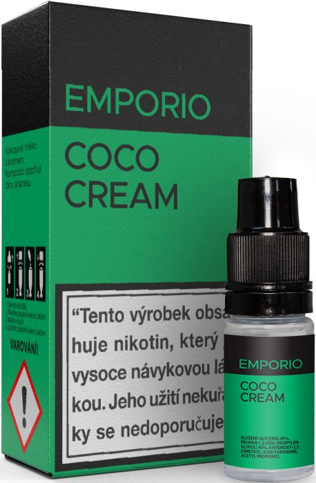 Liquid EMPORIO Coco Cream 10ml - 3mg
