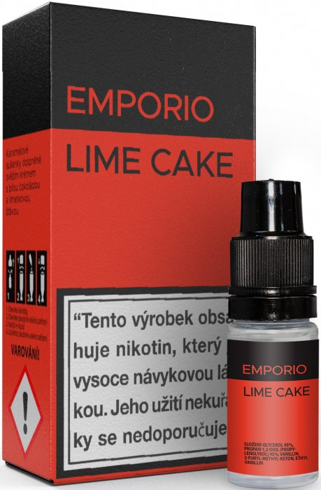 Liquid EMPORIO Lime Cake 10ml - 18mg