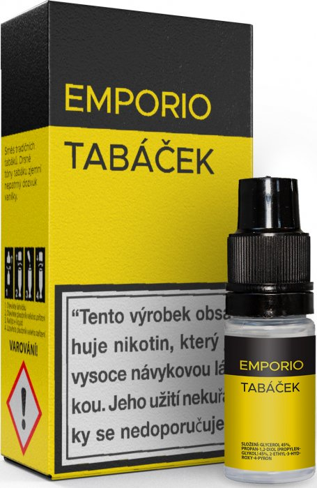 Liquid EMPORIO Tobacco 10ml - 12mg