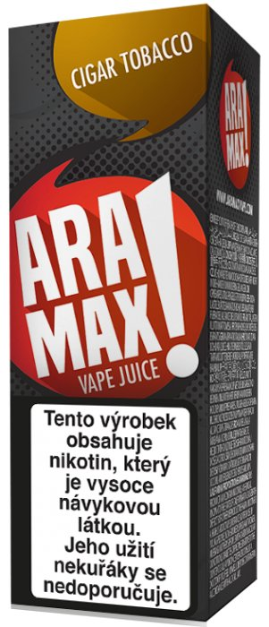 Liquid ARAMAX Cigar Tobacco 10ml-3mg
