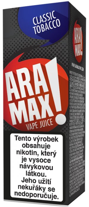 Liquid ARAMAX Classic Tobacco 10ml-3mg