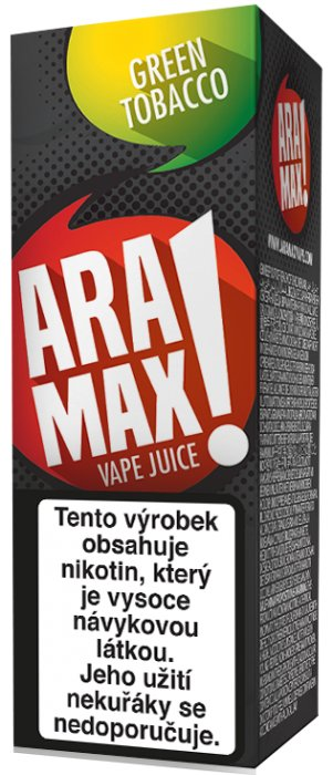 Liquid ARAMAX Green Tobacco 10ml-3mg