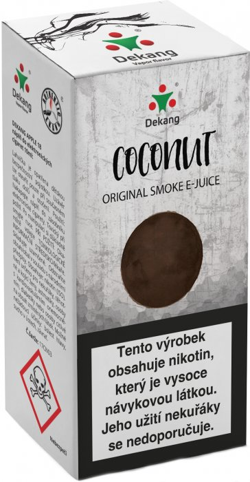 Liquid Dekang Coconut 10ml - 16mg (Kokos)