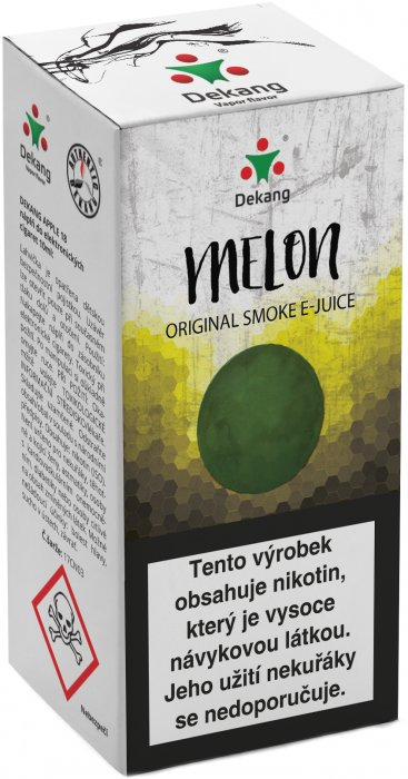Liquid Dekang Melon 10ml-18mg (Žlutý meloun)