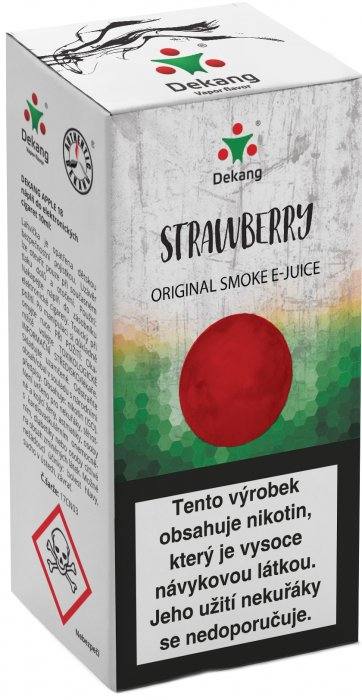 Liquid Dekang Strawberry 10ml - 16mg (Jahoda)