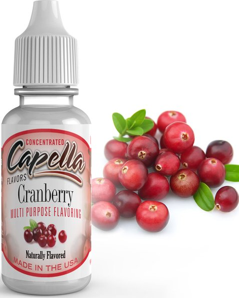 Příchuť Capella 13ml Cranberry (Brusinka)