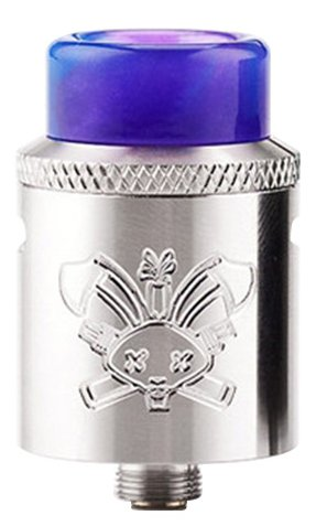 Hellvape Dead Rabbit SQ RDA clearomizer Silver