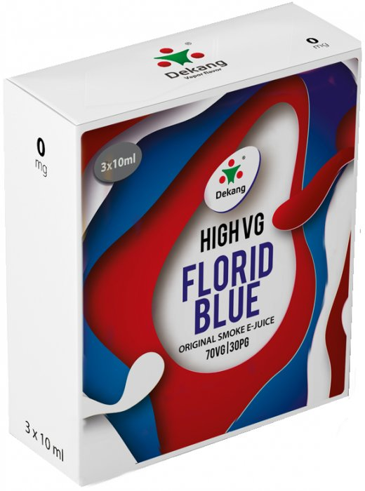 Liquid Dekang High VG 3Pack Florid Blue 3x10ml - 0mg