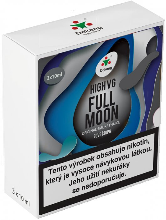 Liquid Dekang High VG 3Pack Full Moon 3x10ml - 3mg