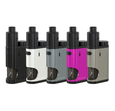 iSmoka-Eleaf Pico Squeeze Coral Grip Full Kit Silver