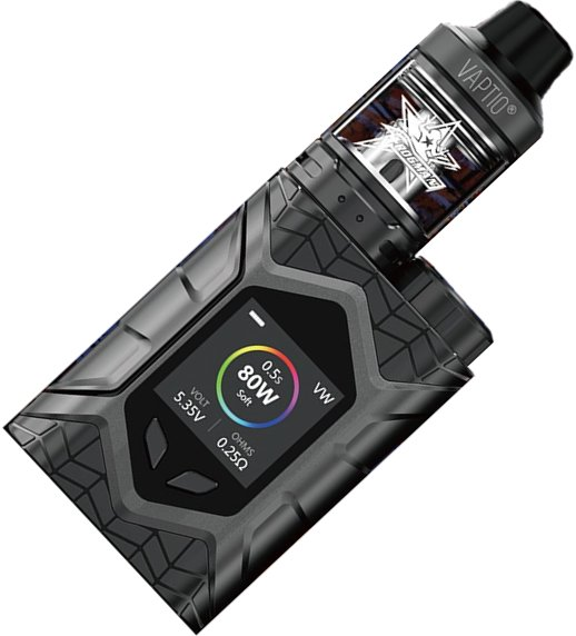 Vaptio Wall Crawler TC80W grip Full Kit Black