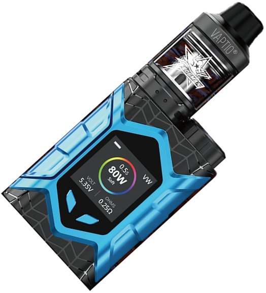 Vaptio Wall Crawler TC80W grip Full Kit Black-Blue