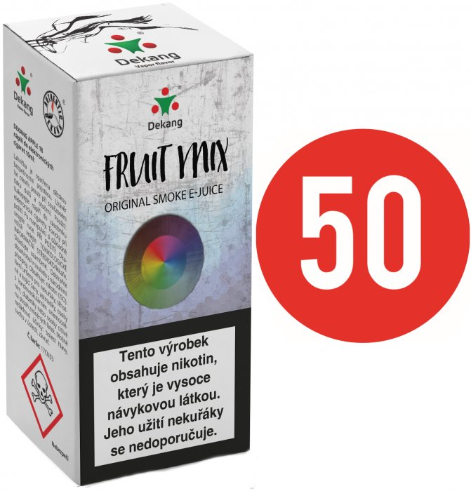 Liquid Dekang Fifty Fruit Mix 10ml - 11mg (Ovocný mix)
