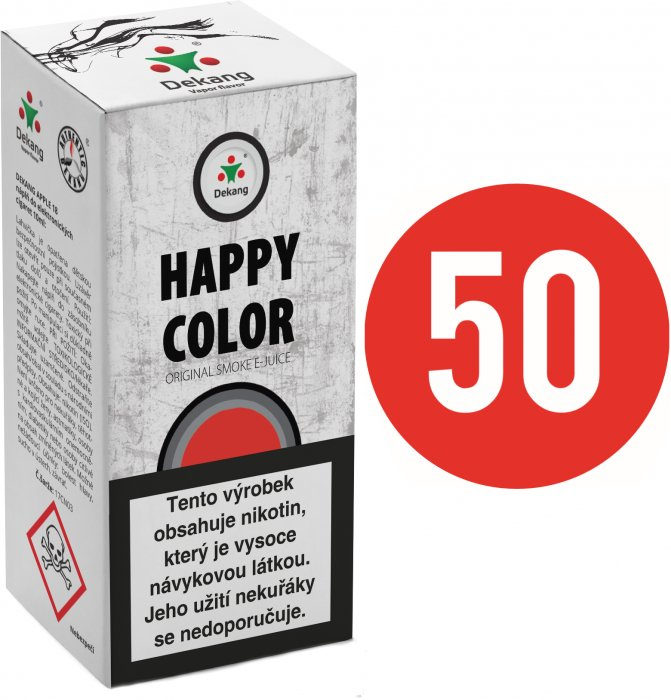 Liquid Dekang Fifty Happy Color 10ml - 3mg