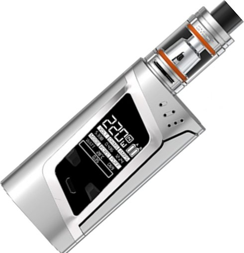 Smoktech Alien TC 220W Grip Full Kit Silver