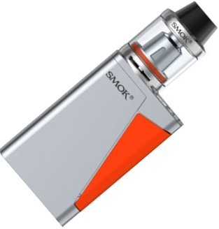 Smoktech H-PRIV Mini TC 50W Grip Full Kit Silver