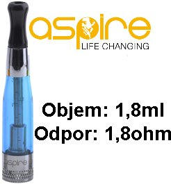 aSpire CE5 BDC Clearomizer 1,8ohm 1,8ml Blue