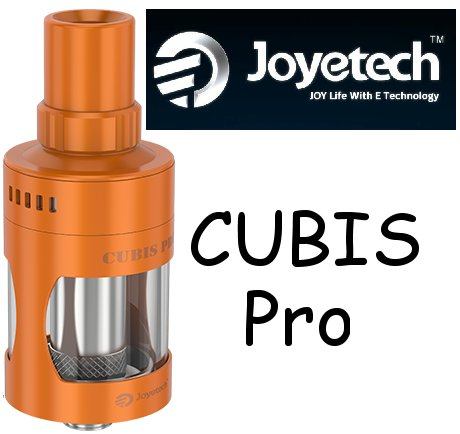 Joyetech CUBIS Pro Clearomizer 4ml Orange