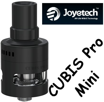 Joyetech CUBIS Pro Mini Clearomizer 2ml Black