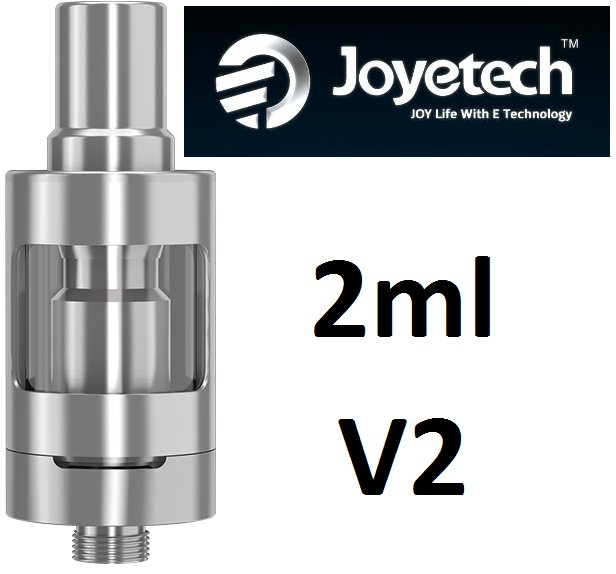 Joyetech eGo ONE V2 clearomizer 2ml Silver