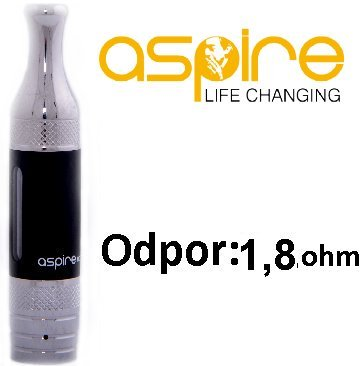 aSpire ET-S Victory BVC clearomizer 3ml 1,8ohm Black
