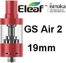 iSmoka-Eleaf GS AIR 2 19mm clearomizer Red