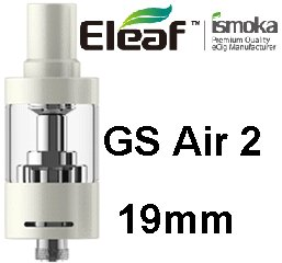 iSmoka-Eleaf GS AIR 2 19mm clearomizer White