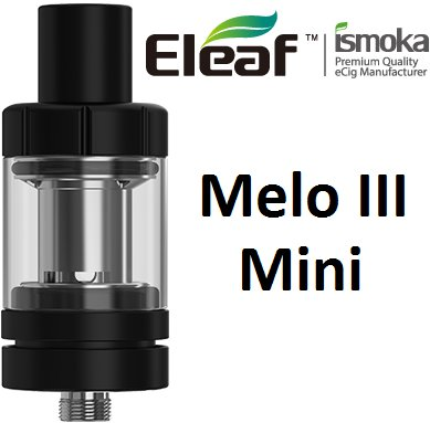 iSmoka-Eleaf Melo 3 Mini clearomizer Black