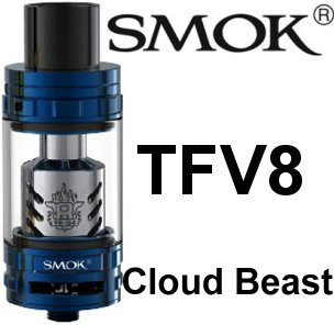 Smoktech TFV8 Cloud Beast clearomizer Blue