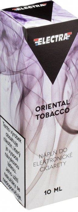 Liquid ELECTRA Oriental Tobacco 10ml - 6mg