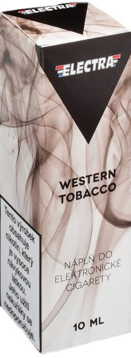 Liquid ELECTRA Western Tobacco 10ml - 6mg
