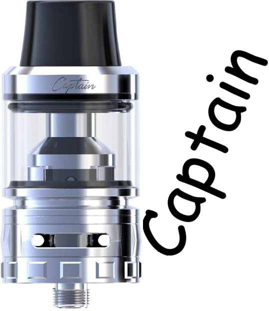 IJOY Captain Sub Ohm clearomizer Silver