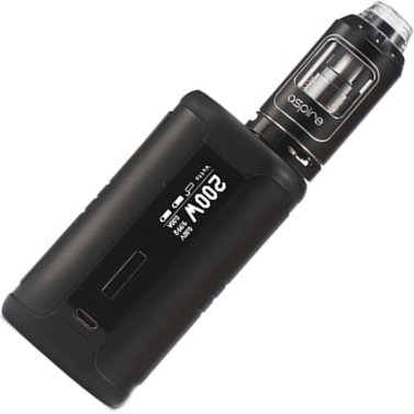 aSpire Speeder TC200W Grip Full Kit Black