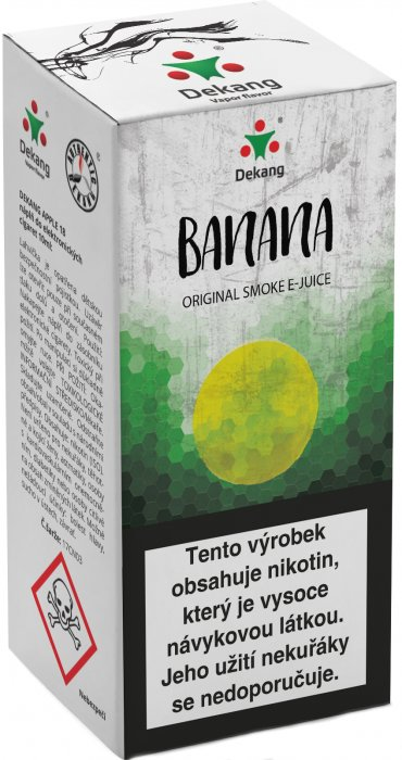 Liquid Dekang Banana 10ml - 6mg (Banán)