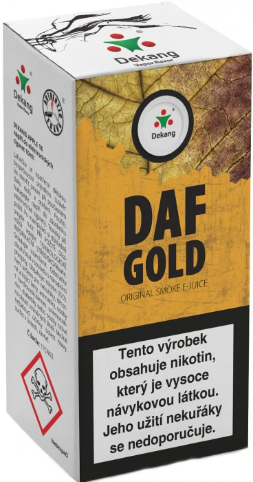 Liquid Dekang DAF Gold 10ml - 11mg