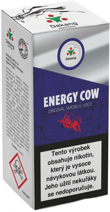 Liquid Dekang Energy Cow 10ml - 3mg (energetický nápoj)