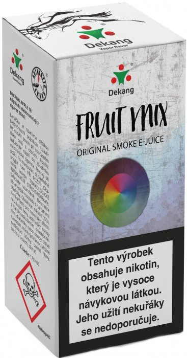 Liquid Dekang Fruit Mix 10ml - 3mg (Ovocný Mix)
