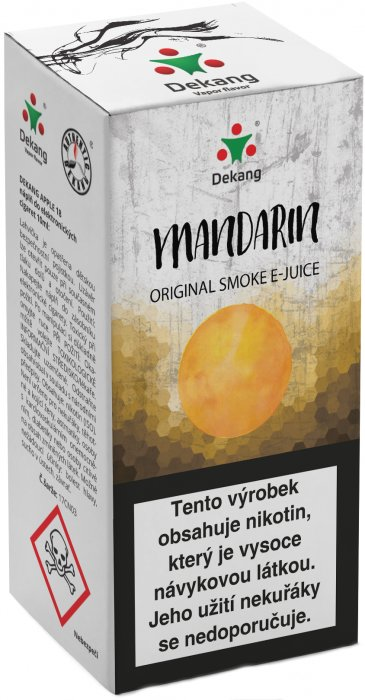 Liquid Dekang Mandarin 10ml - 16mg (mandarinka)