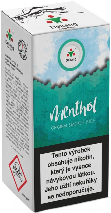 Liquid Dekang Menthol 10ml - 16mg (Mentol)