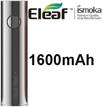 iSmoka-Eleaf iJust Start Plus baterie 1600mAh Silver