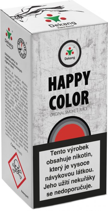 Liquid Dekang Happy color 10ml - 3mg