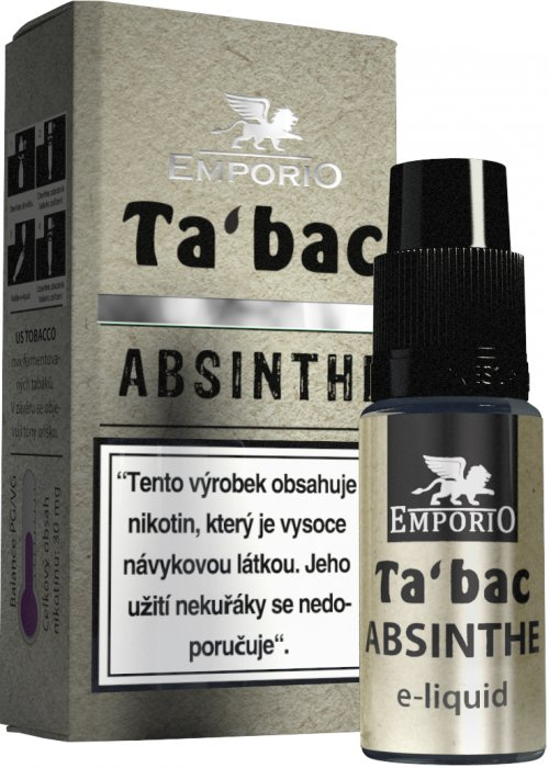 Liquid EMPORIO Absinthe 10ml - 9mg
