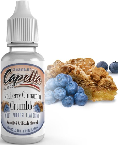 Příchuť Capella 13ml Blueberry Cinnamon Crumble