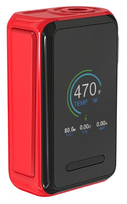 Joyetech CUBOID Lite 80W Easy Kit 3000mAh Red