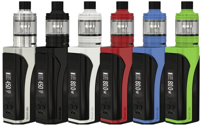 iSmoka-Eleaf iKuun i80 grip 3000mAh Full Kit D22 Silver