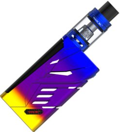 Smoktech T-PRIV  TC220W Grip Full Kit Blue and Multi Color