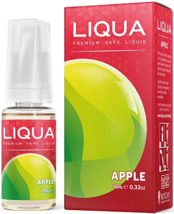Liquid LIQUA CZ Elements Apple 10ml-0mg (jablko)