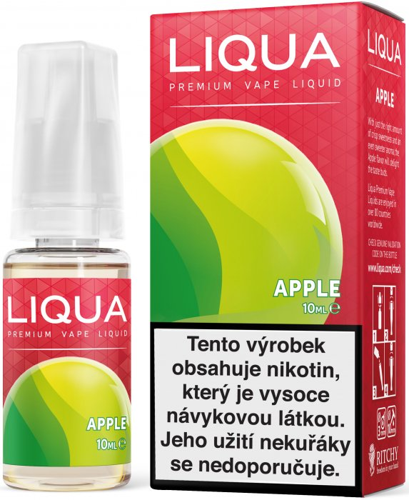 Liquid LIQUA CZ Elements Apple 10ml-6mg (jablko)