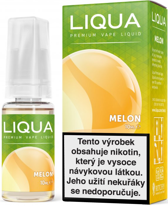 Liquid LIQUA CZ Elements Melon 10ml-3mg (Žlutý meloun)