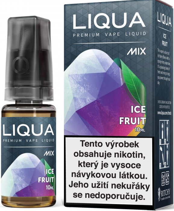 Liquid LIQUA CZ MIX Ice Fruit 10ml-6mg